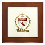 LOZIER Family Crest Framed Tile