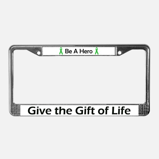 Gift of Life License Plate Frame