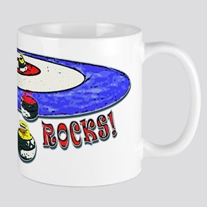 Curling Rocks Mag Mug
