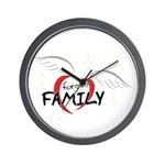 Forever Family Wall Clock