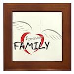 Forever Family Framed Tile