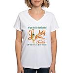 Lucky Bait Women's V-Neck T-Shirt
