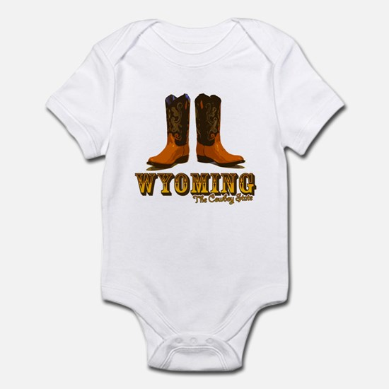 Wyoming: The Cowboy State Infant Bodysuit
