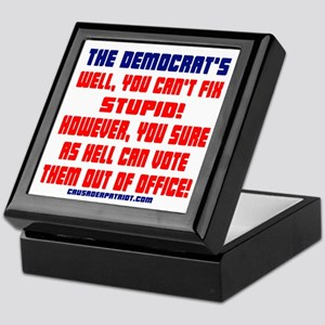 VOTE THEM OUT OF OFFICE! Keepsake Box