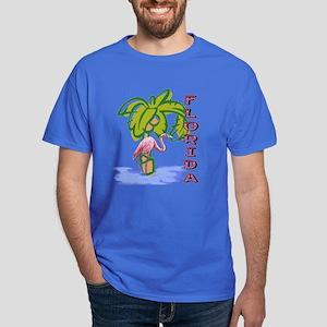 Florida flamingo Dark T-Shirt