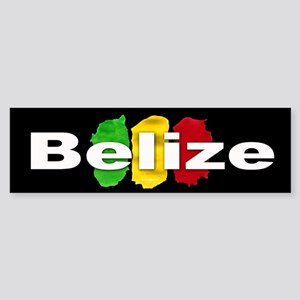 Belize Ras Sticker (Bumper)