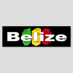 Belize Ras Sticker (Bumper)