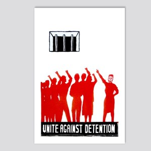 Unite Against Detention  Postcards (Package of 8)