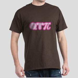 QTPi (pink) Dark T-Shirt