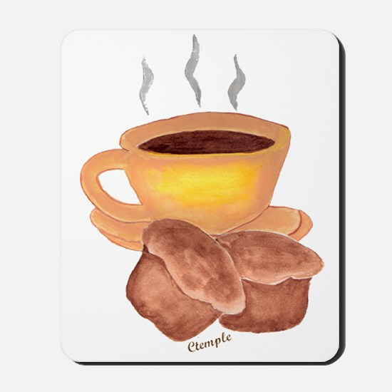 COFFEE AND MUFFINS Mousepad