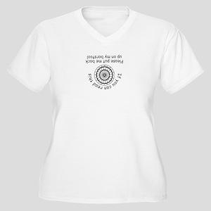 barstool Women's Plus Size V-Neck T-Shirt