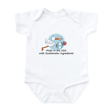 Stork Baby Guatemala USA Infant Bodysuit