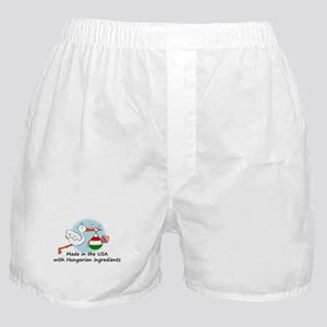 Stork Baby Hungary USA Boxer Shorts
