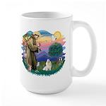 St Francis #2 / Havanese (w) Large Mug
