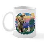 St Francis #2 / Havanese (w) Mug