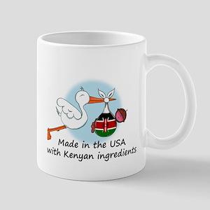 Stork Baby Kenya USA Mug