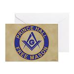Prince Hall Mason Greeting Card