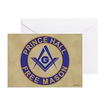 Prince Hall Mason Greeting Cards (Pk of 10)