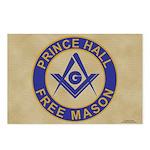 Prince Hall Mason Postcards (Package of 8)