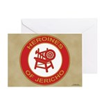 Heroines of Jericho Greeting Card