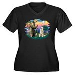 St. Fran #2/ Great Pyrenees #1 Women's Plus Size V
