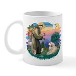 St. Fran #2/ Great Pyrenees (#2) Mug