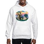 St. Fran #2/ Great Pyrenees (#2) Hooded Sweatshirt