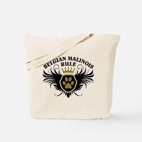 Belgian Malinois Rule Tote Bag