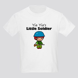 Yia Yia's Little Soldier Kids Light T-Shirt