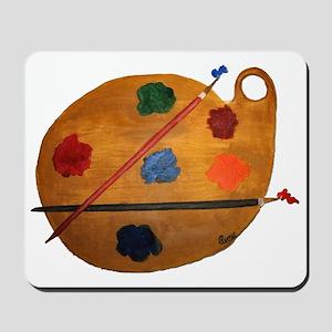 ARTIST PALETTE Mousepad