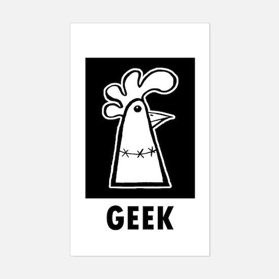 Geek Sticker (Rectangle)