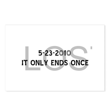Finale Date/Only Ends Once / Postcards (Package of