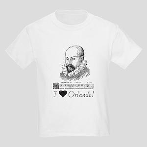 I Love Orlando Kids Light T-Shirt