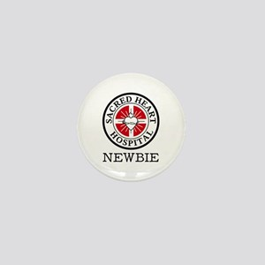 'Sacred Heart Newbie' Mini Button