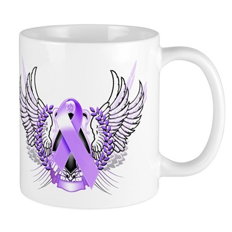 Awareness Tribal Purple Mug