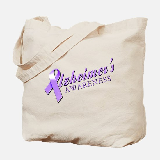 Alzheimer's Awareness Tote Bag