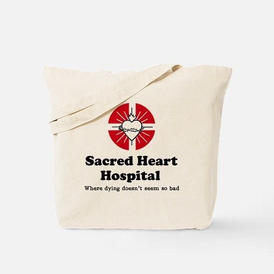 'Sacred Heart Hospital' Tote Bag