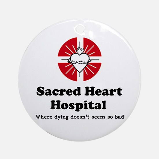 'Sacred Heart Hospital' Ornament (Round)