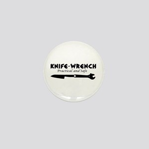 'Knife-Wrench' Mini Button
