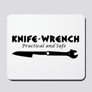 'Knife-Wrench' Mousepad