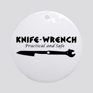 'Knife-Wrench' Ornament (Round)