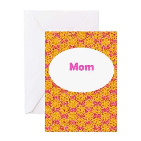 Mom / Mother's Day Floral Greeting Card (O/P)