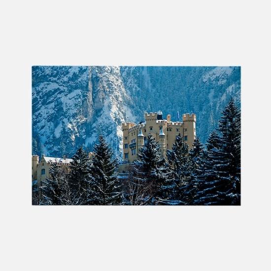 Medieval Castle (Hohenschwang Rectangle Magnet