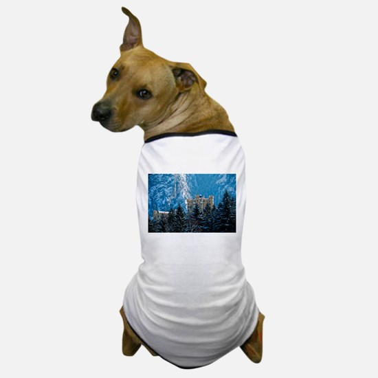 Medieval Castle (Hohenschwang Dog T-Shirt