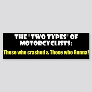 """Two Types"" Sticker (Bumper)"