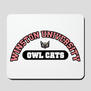 'Owl Cats' Mousepad
