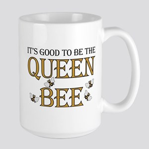 Good To Be Queen Bee Large Mug