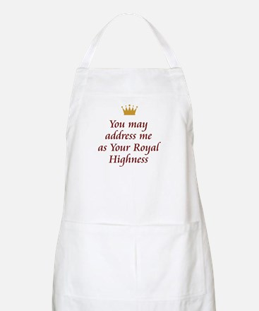 Your Royal Highness Apron