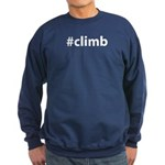 #climb Sweatshirt (dark)