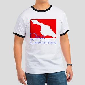 Dive Catalina Island Ringer T